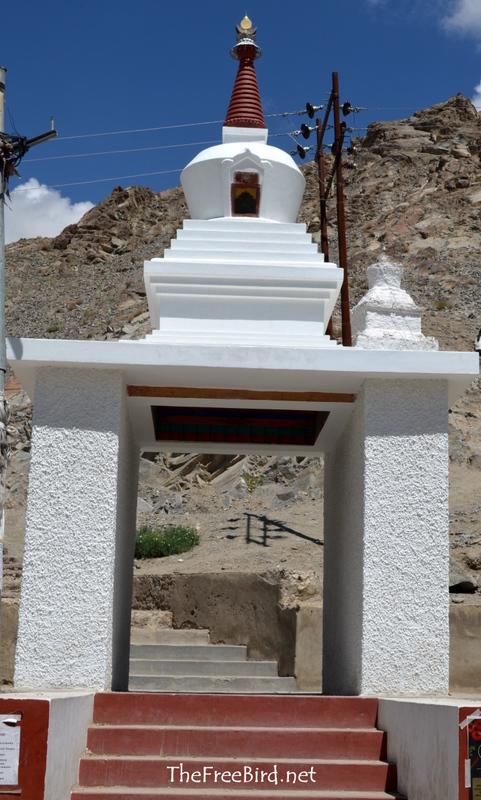 Shanti Stupa Entrance Leh