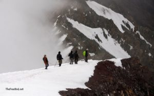 Stok Kangri descend
