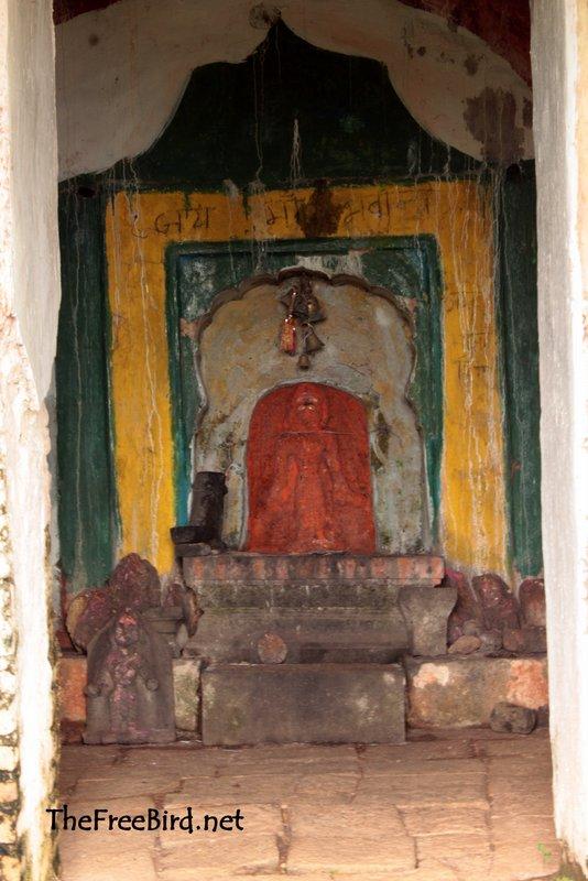 Pandjai temple devi Pandavgad
