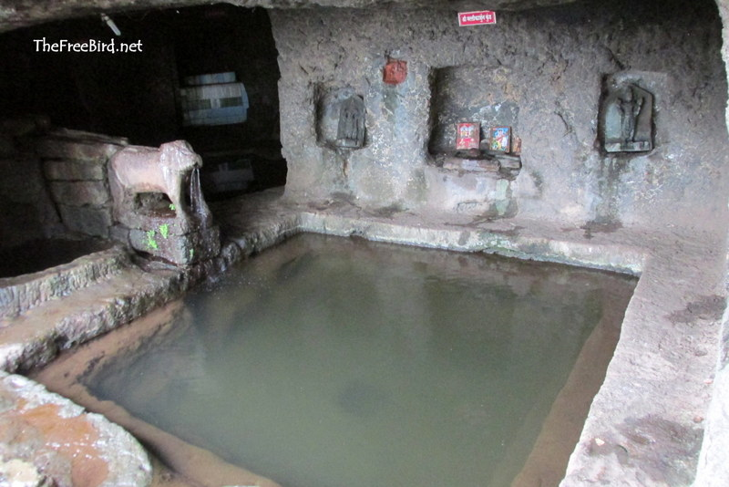 Kund at Rajapuri Caves