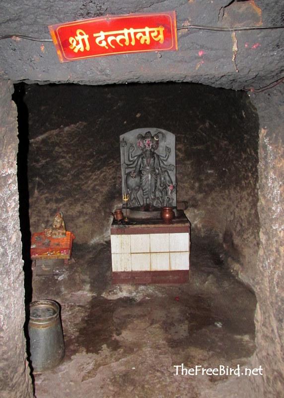 Datta Temple @ Rajapuri caves
