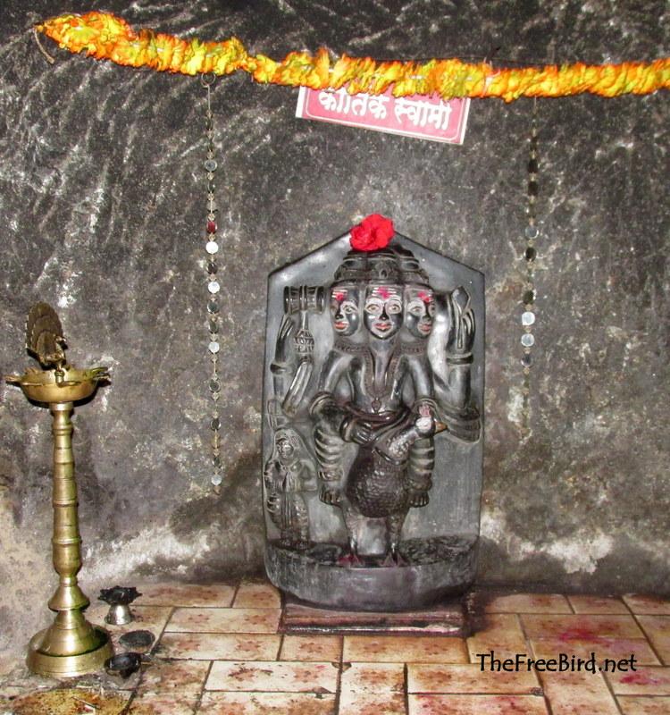 Kartikswami mandir @ rajapuri caves