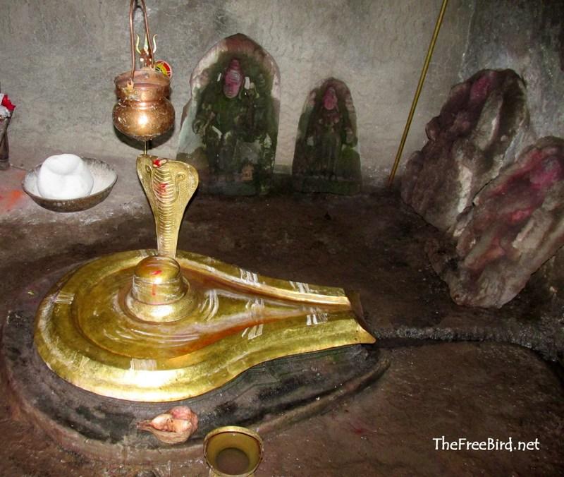 Mallikarjun Shivling @ rajapuri Caves