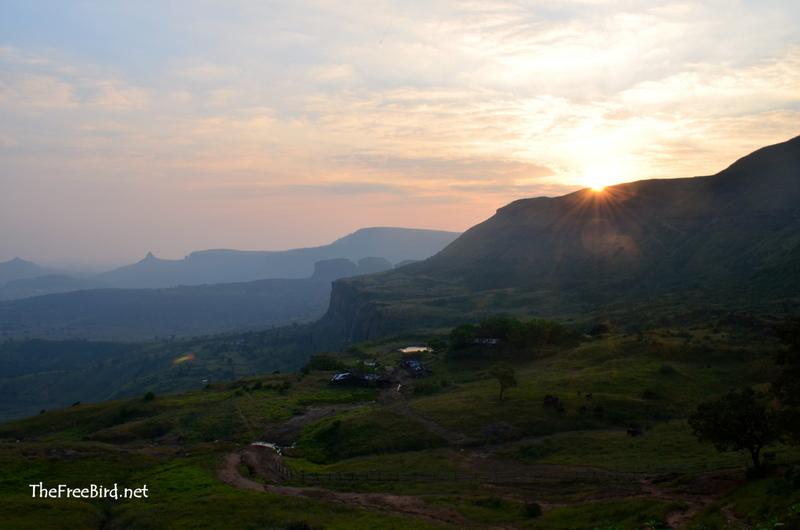 Brahmagiri hills sunrise