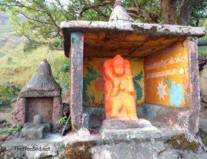 Brahmagiri Trek Hanuman mandir