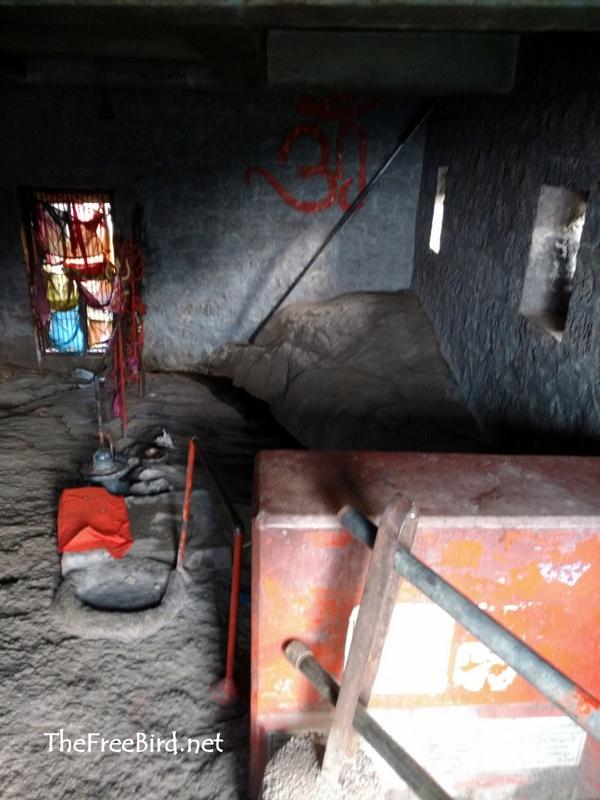 Inside the Shiv jata Mandir Brahmagiri