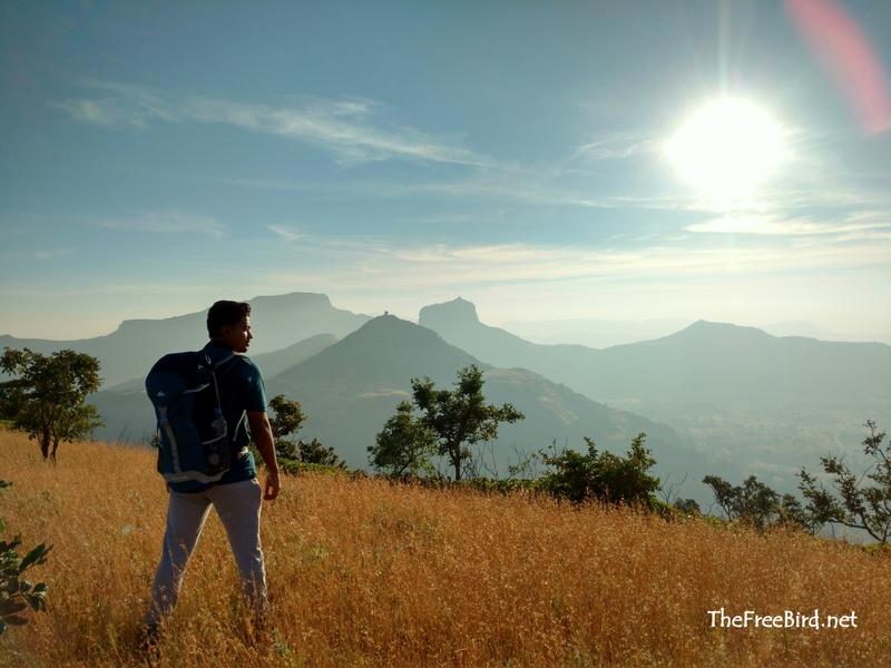 Basgad trek , Harihar , Brahmagiri, Brahma Hill, Kaapdya, Fani hill