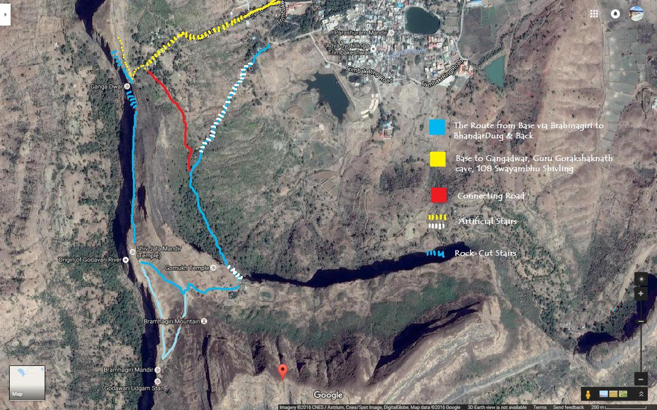route to Brahmagiri & Bhandardurg