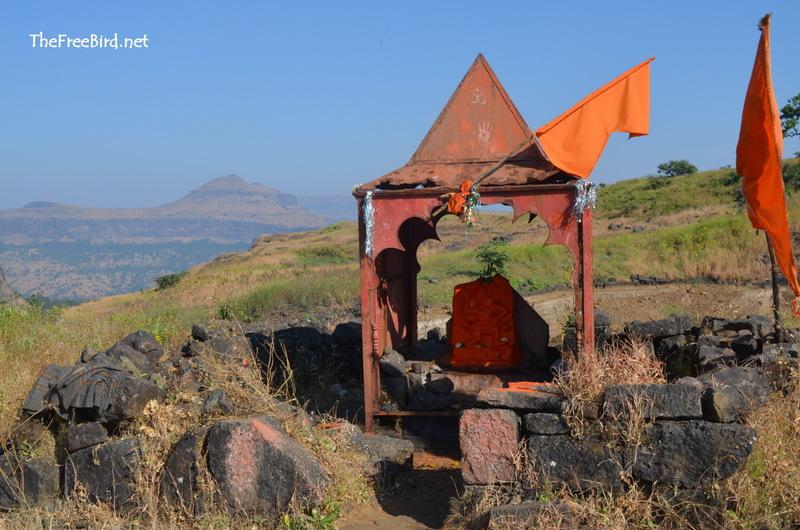 Hanuman Temple with Brahmagiri