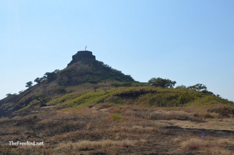HIghest point on harihar fort