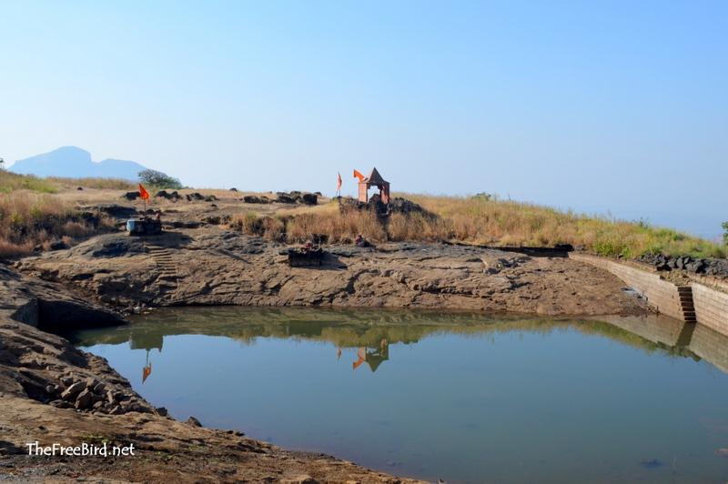 Lake @ Harihar fort