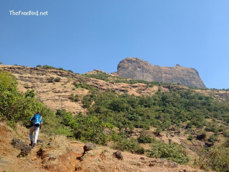 Towards Harihar fort