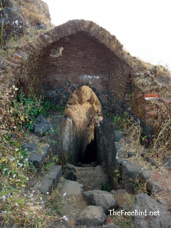 Second door @ Harihar fort trek