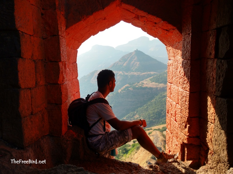 Main Entrance Harihar Fort
