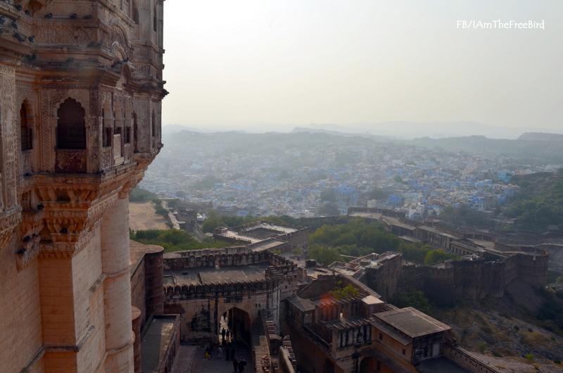 Mehrangadh Fort Jodhpur Rajasthan The Free BIrd