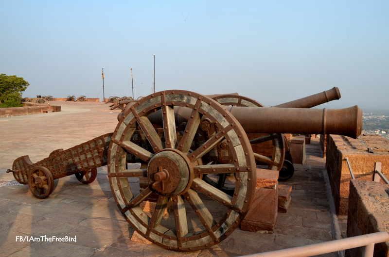 Kiilkila canon mehrangadh fort jodhpur rajasthan