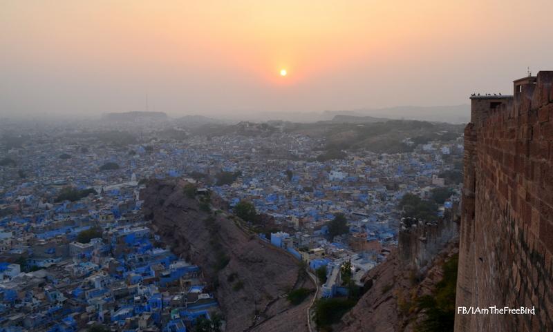 Sunset from Mehrangadh Jodhpur