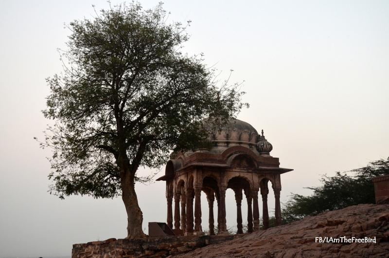 Chhatri of Kirat Singh Soda Mehrangadh Jodhpur free bird