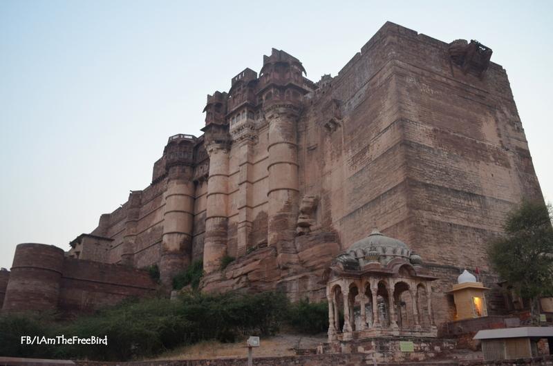 Mehrangadh Fort Jodhpur Rajasthan Free Bird