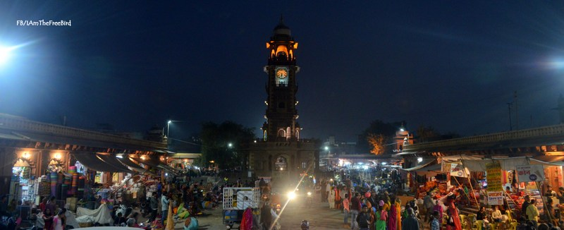 clock tower Ghanta ghar jodhpur