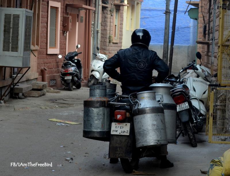 Bylanes of jodhpur rajasthan