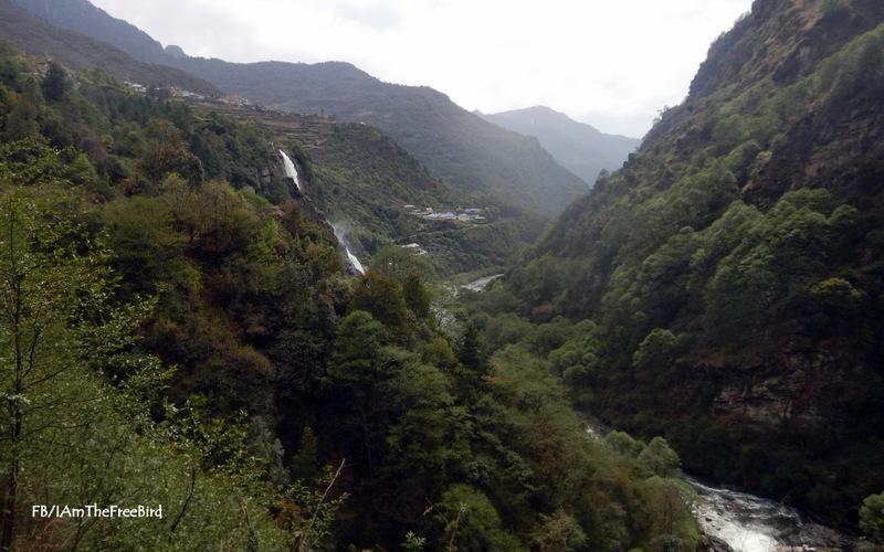 Nuranang waterfall NIMAS BMC