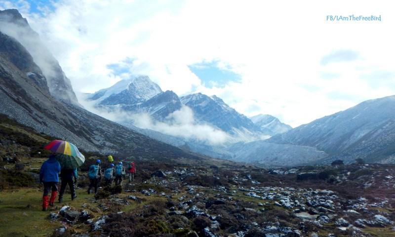Gorichen NIMAS BAsic Mountaineering course BMC AMC Meerathang
