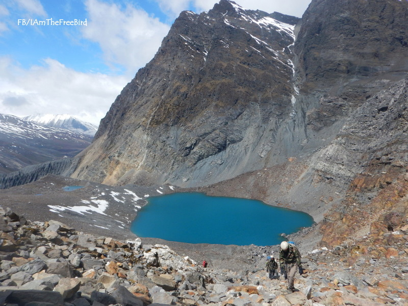 NIMAS BAsic Mountaineering course BMC AMC Meerathang blue lake tarn
