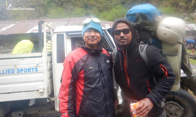 NIMAS BAsic Mountaineering course BMC AMC Gurung sir