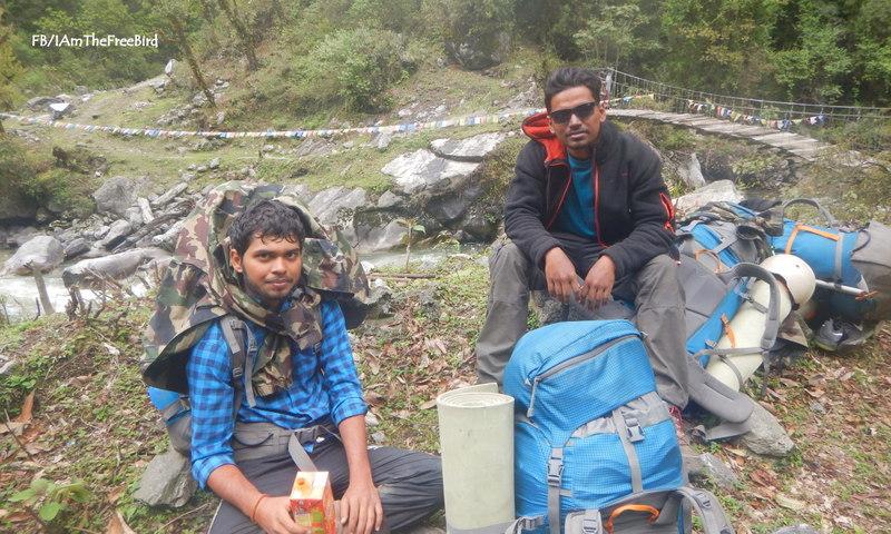 NIMAS BAsic Mountaineering course BMC AMC