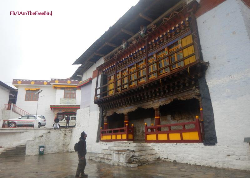 NIMAS BAsic Mountaineering course BMC AMC tawang monastery