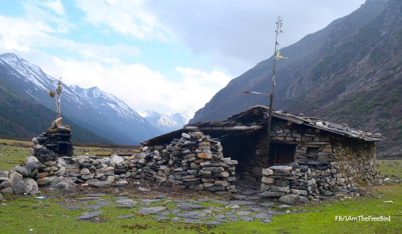 Untouched Indian village | Jeethang | NIMAS BMC 6/8