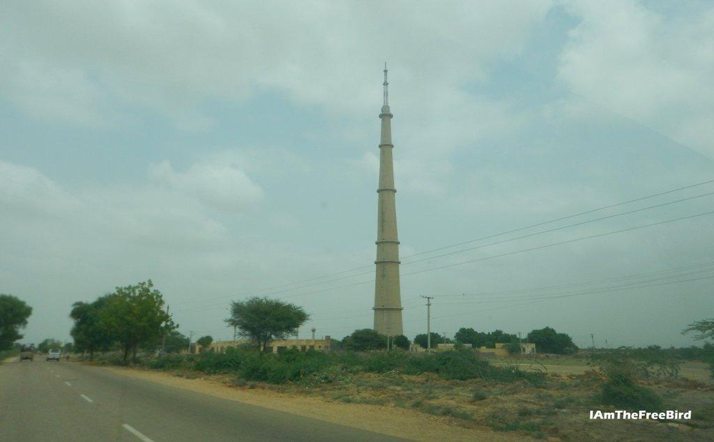 Third higest TV tower INdia Ramgarh Jaisalmer