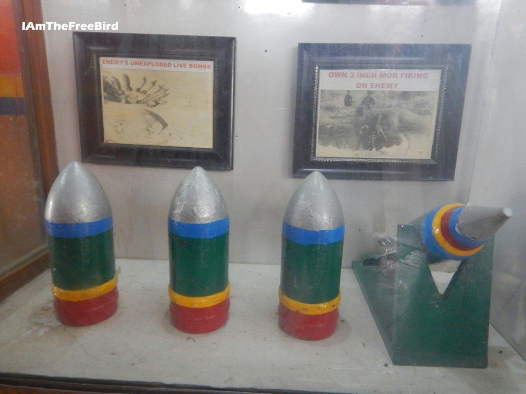 Bomb Shells at Tanot