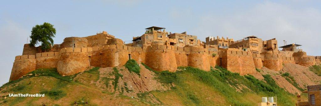 The free bird Jaisalmer Fort