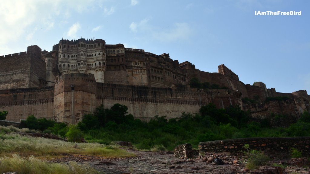 Dark Knights prison at Mehrangarh fort