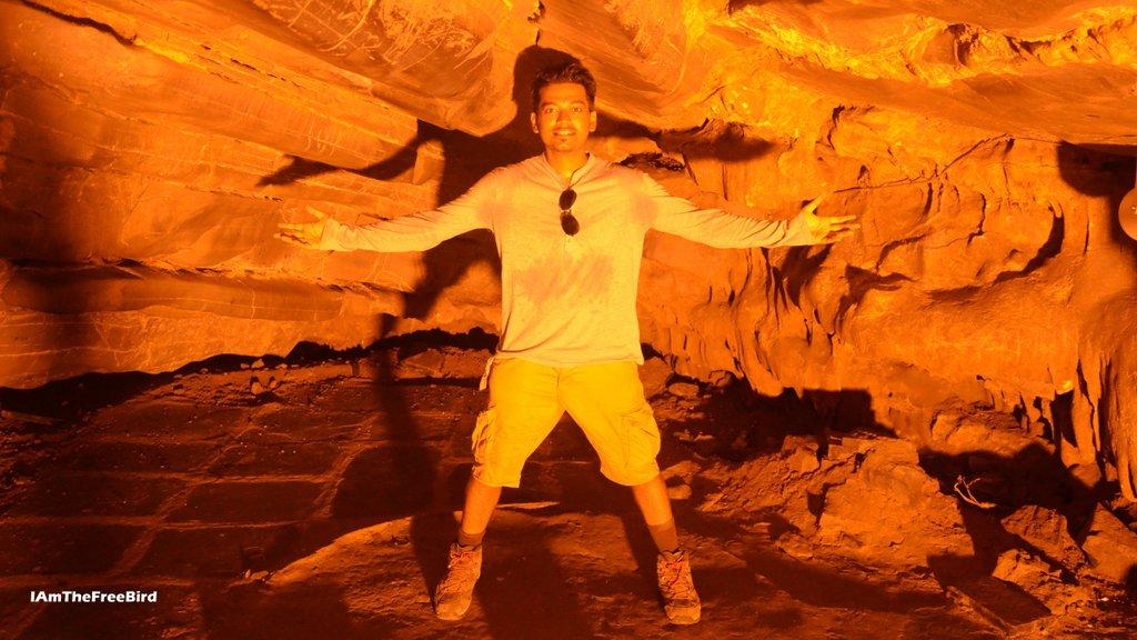 Belum caves are hot