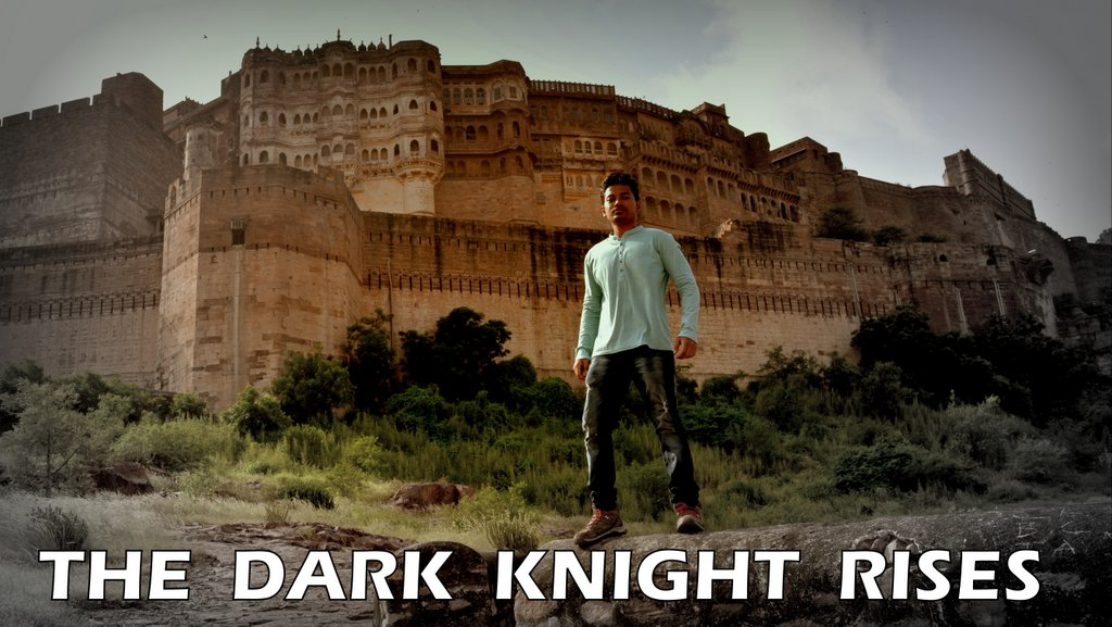 Dark Knight Prison Rises at Mehrangarh fort 2 hrs in Jodhpur
