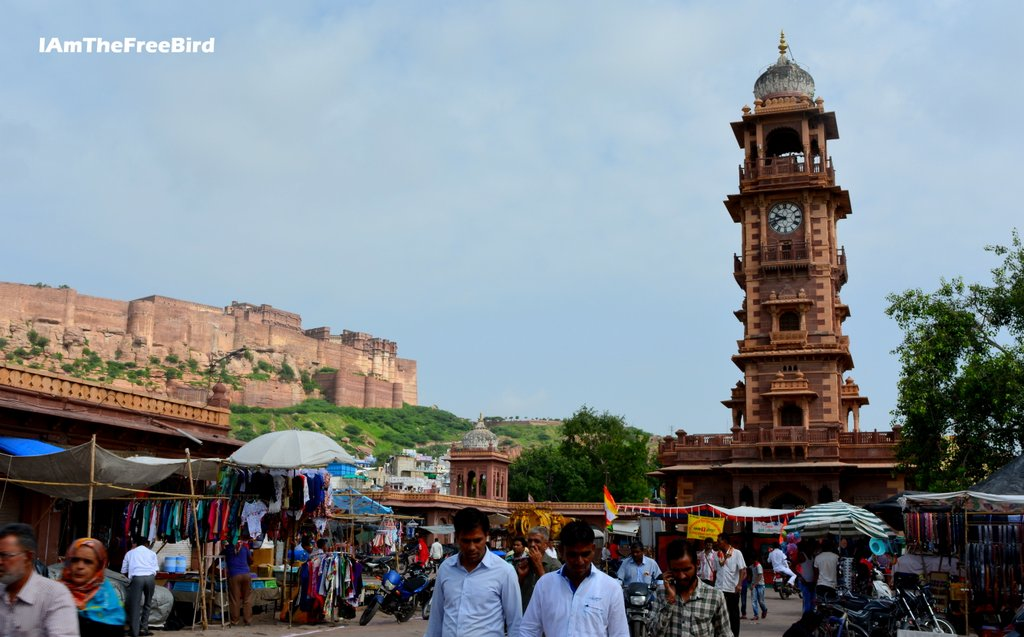 clock tower Mehrangarh 2 hoursi n Jodhpur